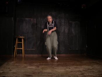 Performance by Osamu Kuroda (Japan) at Neon Hall, Nagano city