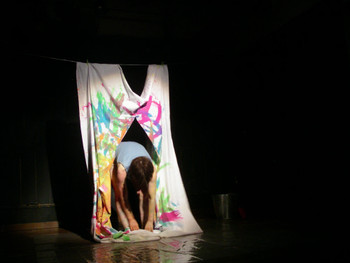 Performance by Masayo Yokota (Japan) at Neon Hall, Nagano city