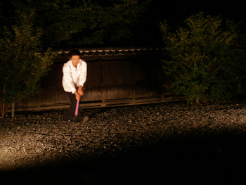 Performance by Shohei Nomoto (Japan) at Sekishoji-Temple, Kumagaya