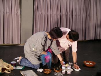 Performance by Nariai Saori (Japan) in Morishita Studio, Tokyo