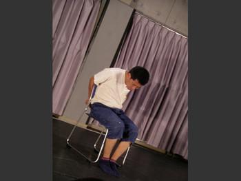 Performance by Htein Lin (Myanmar) in Morishita Studio, Tokyo