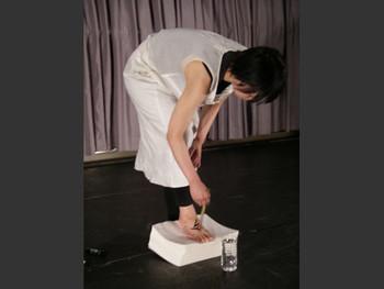 Performance by Haruhi_Tanaka (Japan) in Morishita Studio, Tokyo