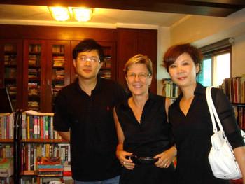 Lu Peng, Jane Debevoise and Hu Jielan