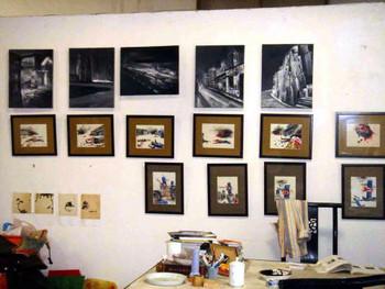Zhang Pei's studio