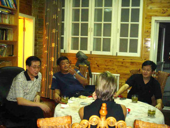 Tang Buyun, Sun Yujing, Lu Peng and Jane Debevoise
