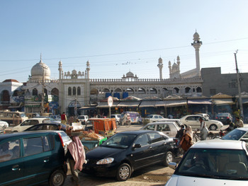 6-8 March 2007, Lahore, Pakistan. Street scene, Lahore