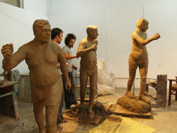 Sculpture studio, NCA