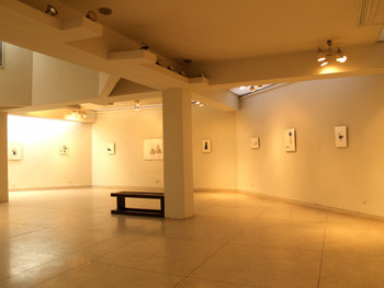 Exhibition view, New Drawings, Alhamra Art Gallery