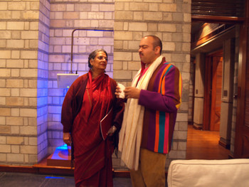 9-12 March, New Delhi, India. Geeta Kapur and Anupam Poddar