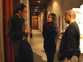 Lu Jie, Shilpa Gupta and Quddus Mirza
