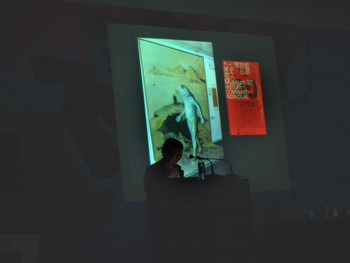 Oscar Ho at the Biennale Conference 2007, Delhi