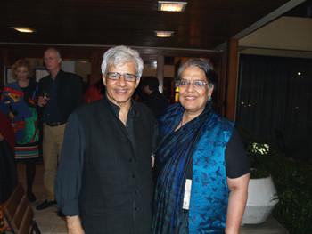 Vivan Sundaram and Geeta Kapur