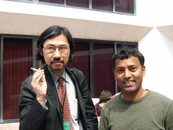 Kuroda Raiji and Jagannath Panda