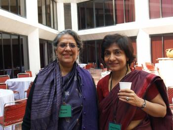 Geeta Kapur and Parul Dave Mukherji
