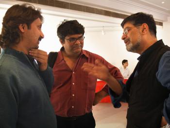 Jeebesh Bagchi, Shuddhabrata Sengupta, Rustom Bharucha