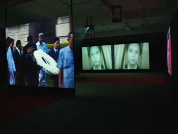 The Face, Film installation, 2005, Amar Kanwar
