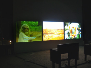 Film installation by Amar Kanwar