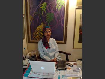 Canvas Art Gallery owner Sameera Raja.