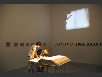 L'ecriture Infinite, 2007, Billy Bidjocka, African Pavilion.