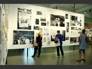 Archivo Tucuman Arde, installation, 1968-2007, Grupe de Artistas de Vanguardia.