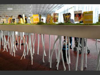 Siegesgarten, installation, 2007, Ines Doujak.