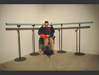 Ears with Chair, 2005, Yukio Fujimoto.