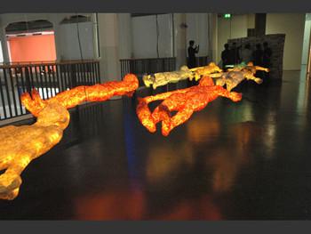 Bodyscape, installation, 2005, Titarubi.