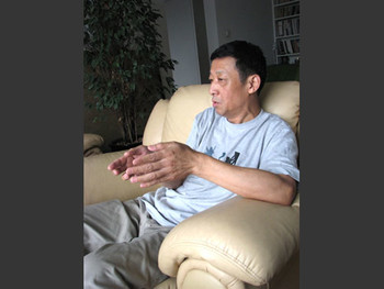 Visit with Chen Shaoping at his home.