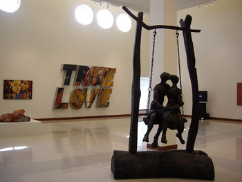 """Love"" exhibit."