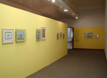 """Dialogue with Tradition"" exhibit."