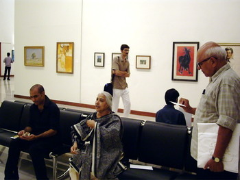 Rashid Rana, Mehr Afroze and Iqbal Geoffrey.