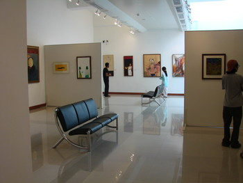"Gallery view: ""The Figurative Impulse""."