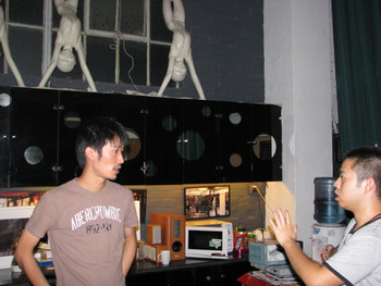 Yan Yao (Director of Operations at ddm warehouse) in conversation about ShContemporary.