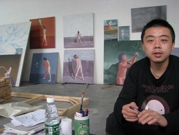 Bai Dongliang's studio.