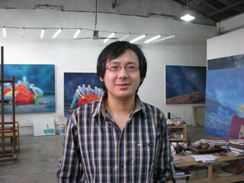 Ji Lei's studio.