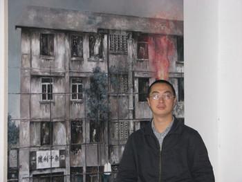 Chen Xian Hui's studio.
