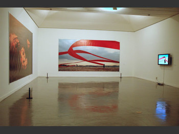 "Exhibition view of ""Performance Art of Korea 1967-2007""."