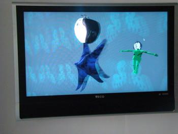Virtual Dance Floor, Interactive Video Installation, Oliver Griem.
