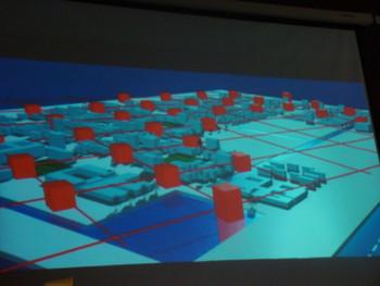 Sui Jianguo's public art presentation.