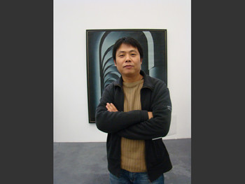 UCCA: Artist Song Yonghong and oil painting by Shu Qun.