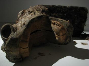 TAM: Sculpture by Qin Ga.