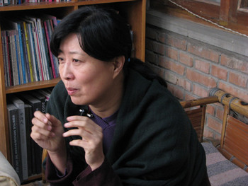 Dialogue with Liao Wen.