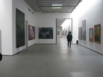 H.J.Y Contemporary Art Center: view of installation on first floor.