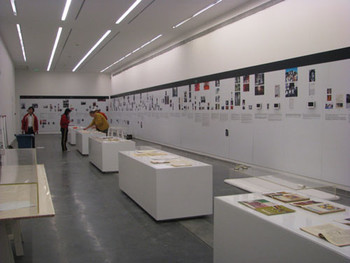 UCCA: Installation view of Document Exhibition
