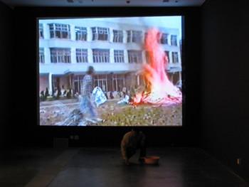 UCCA: Video Still from Xiamen Dada footage.
