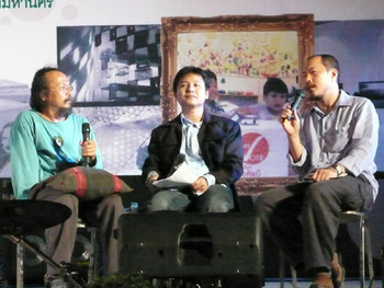 Vasan Sitthiket, Apisak Sonjod, and Manit Sriwanichpoom