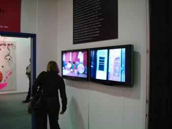 Bani Abidi's video installation