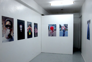 View of Sam Kiyoumarsi's exhibition, 'Inalienable Dreamless', Lost Projects, 16 March – 16 April 2011.