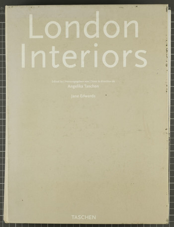 Ha Bik Chuen, collage book - London Interiors, Circa 2001.