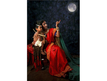 Tejal Shah, You too can touch the moon – Yashoda with Krishna from 'The Hijra Fantasy Series', 2006,